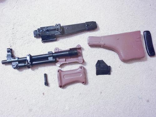 детали эйрсофт пулемета РПД от HSC Airsoft