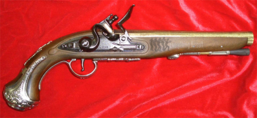 George Washington's Flintlock Pistol