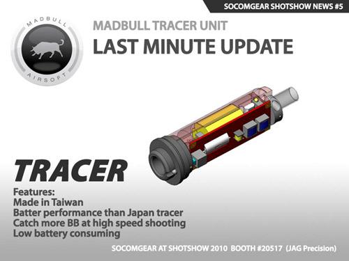 MadBull Tracer Unit устройство для трассирующих страйкбольных шаров