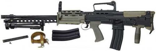 ICS L86 A2 LSW AEG страйкбольное оружие