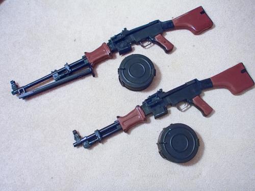 эйрсофт пулемет RPD от HSC Airsoft общий вид