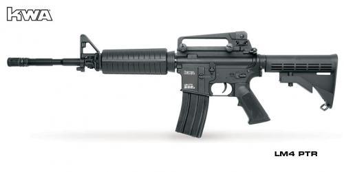 страйкбольное оружие KWA LM4 ptr