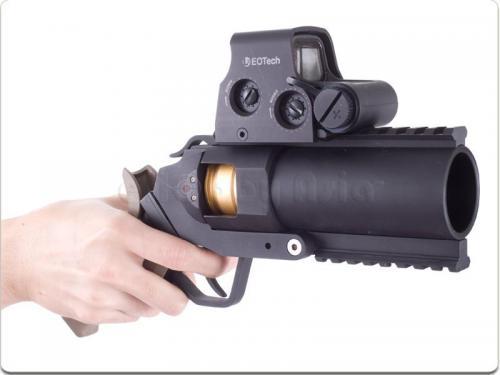 Страйкбольный пистолет-гранатомет из Китая.  В страйкбольном магазине EhobbyAsia в продаже появился забавный девайс...