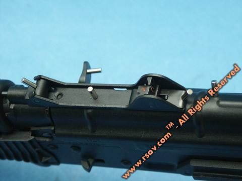 магниты на стальных деталях привода DIBOYS, Kalash SLR-106 (Rk-12)