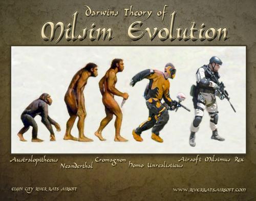 эволюция в страйкболе милсим