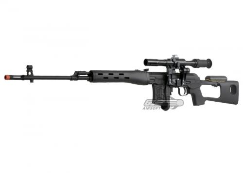 СВД от A&K страйкбольная снайперская винтовка Драгунова