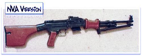 эйрсофт пулемет RPD от HSC Airsoft, nva версия