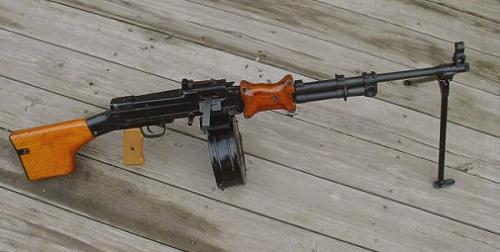 пулемет РПД китайского производства общий вид