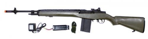 CYMA M14 Sniper Rifle Airsoft AEG OD страйкбольное оружие